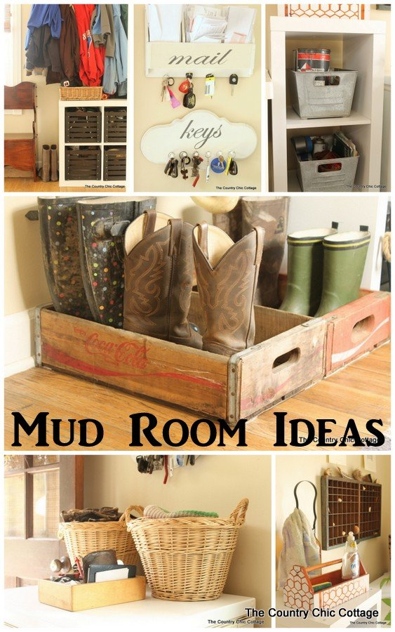 Farmhouse Style Mud Room Organization And Ideas The