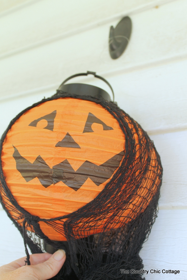 Paper Lantern Hanging Ghosts The Country Chic Cottage
