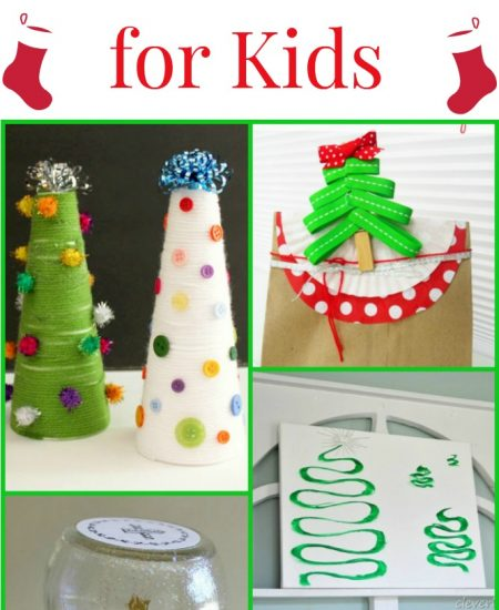Get amazing Christmas crafts for kids here!