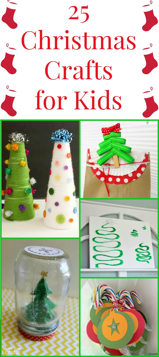 Christmas Crafts For Kids Over 25 Ideas The Country