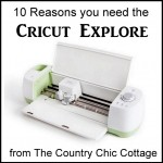 My ten reasons why you need the Cricut Explore this holiday season!