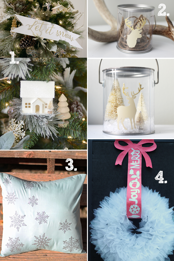 Get tons of ideas for glitter projects using the Cricut Explore.