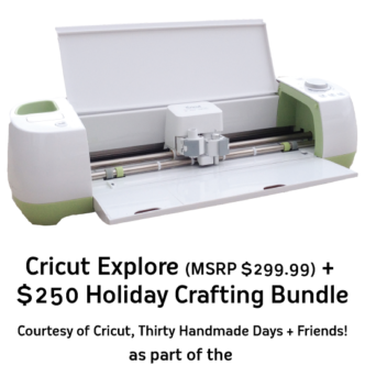 Cricut Explore Bundle Giveaway!