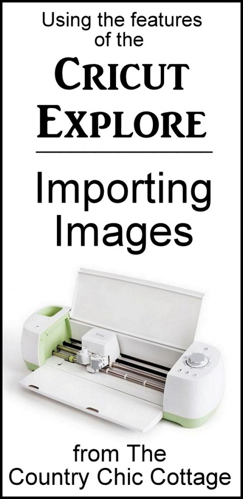 How to import images into your Cricut Explore