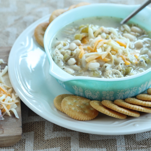 White Chicken Chili Recipe -- Try this great white chili recipe for your family!