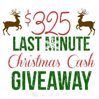 $325 Christmas Cash Giveaway