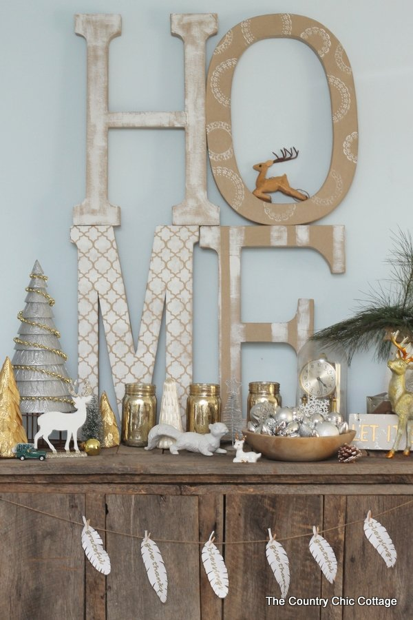 Merry christmas plus a mini home tour the country chic for Country chic christmas