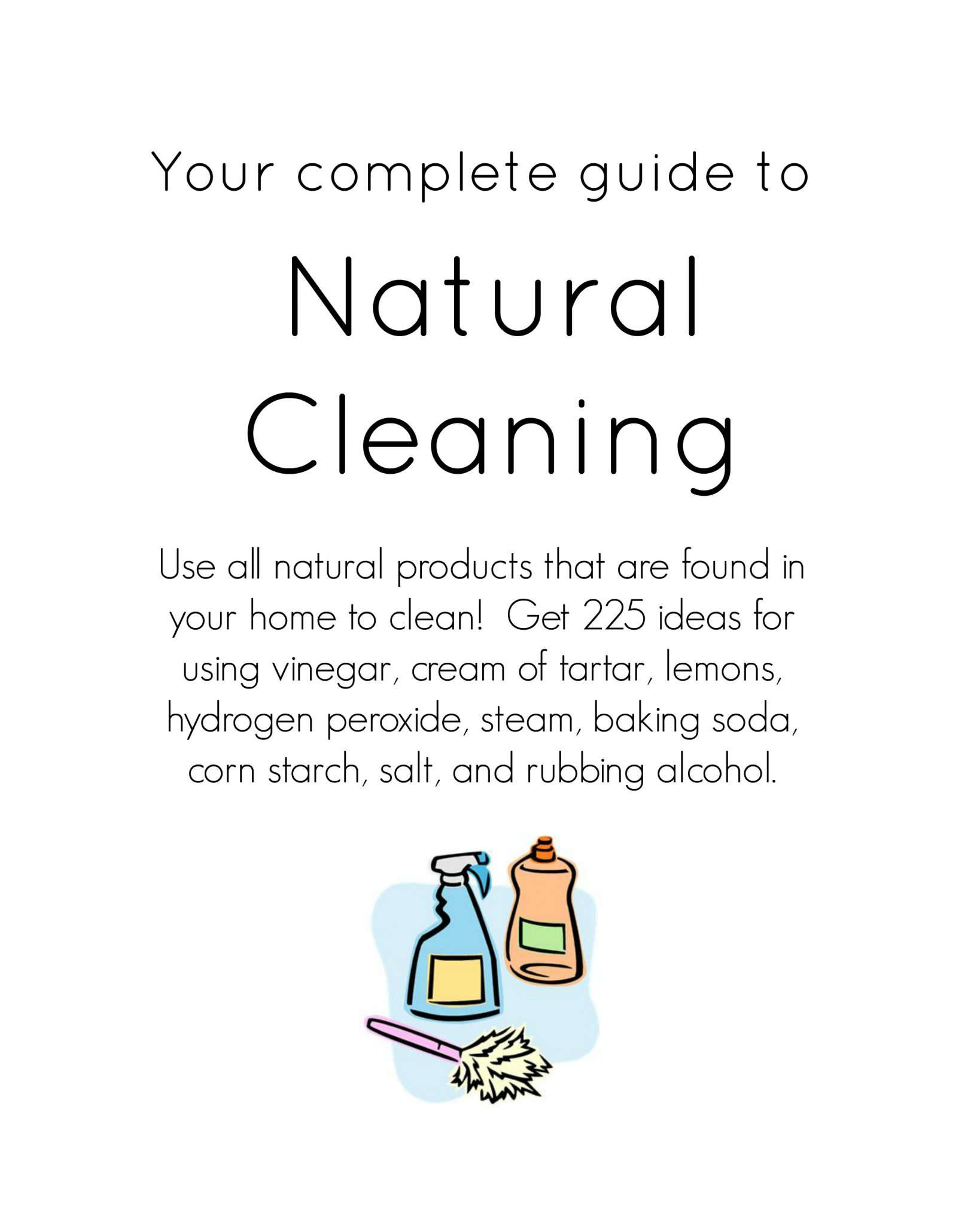 Download this weekly cleaning schedule for personal use only thank - Download This Natural Cleaning Ebook For Only 1 99