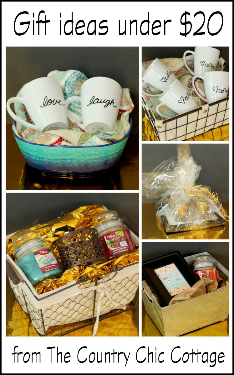 Gift ideas under 20 the country chic cottage get 5 gift ideas under 20 here including the basket negle Choice Image