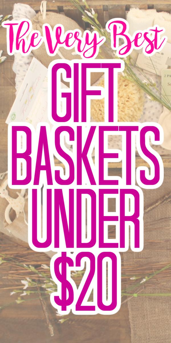 gift baskets under $20