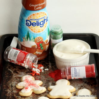 Gingerbread icing -- just 2 ingredients to fabulous gingerbread flavored icing!