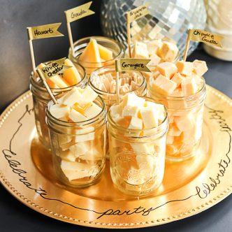 mason jar party tray