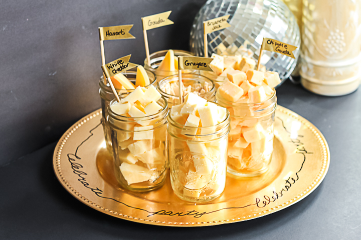 cheese tray for a party