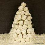 Twinkie Cake Pop Tree -- turn Twinkies into no bake cake pops with just 3 ingredients then put them on a tree for a festive holiday edible centerpiece!