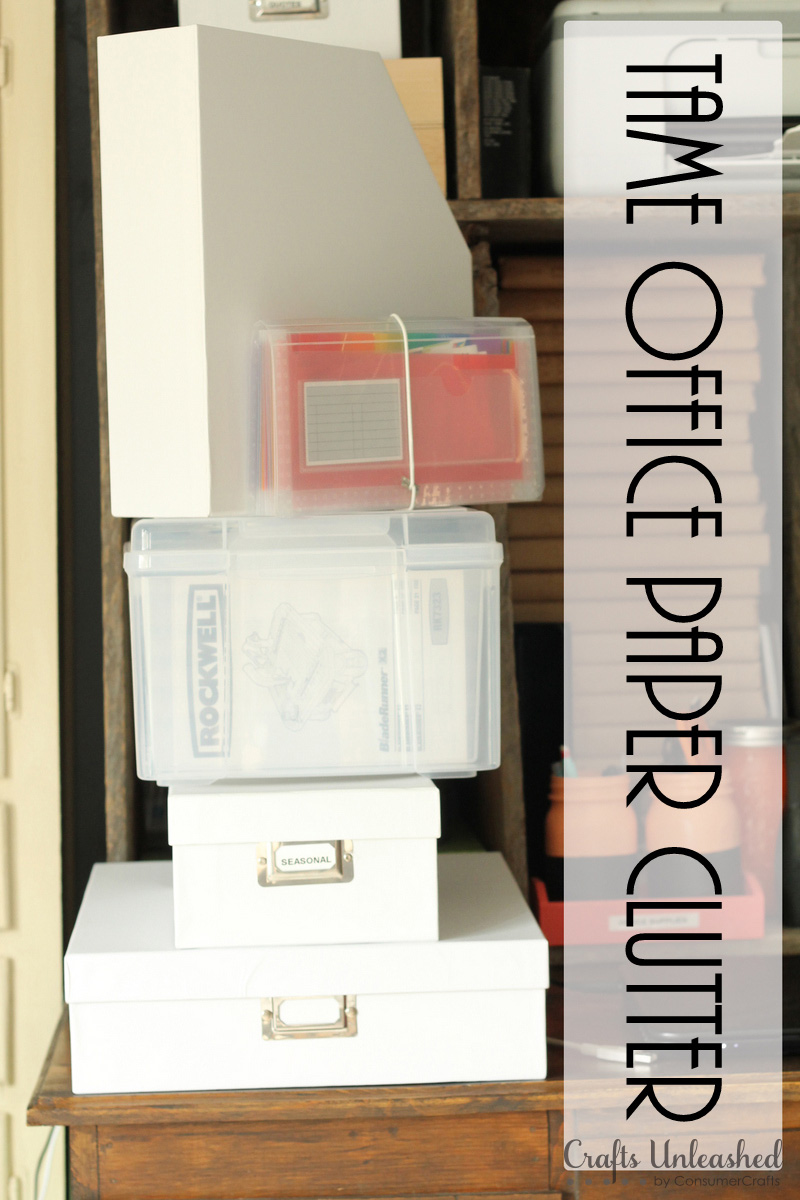 Organizing-papers-tips-Crafts-Unleashed
