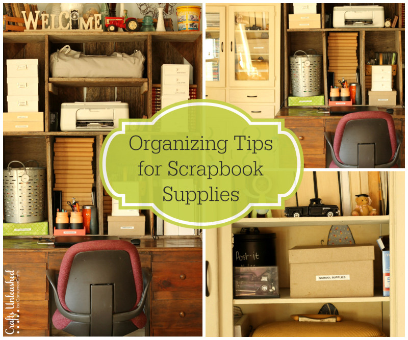 Organizing-tips-for-scrapbooking-supplies-Crafts-Unleashed-800x667