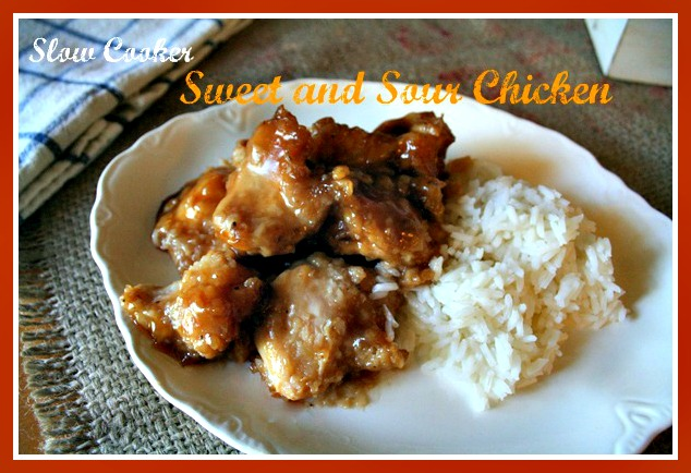 ... slow cooker! Click here to get the recipe for sweet and sour slow