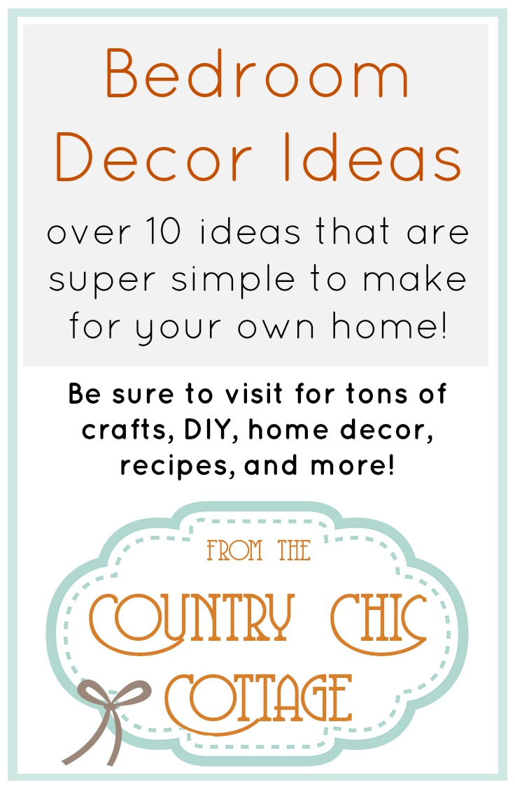 Click for great DIY ideas for your bedroom.