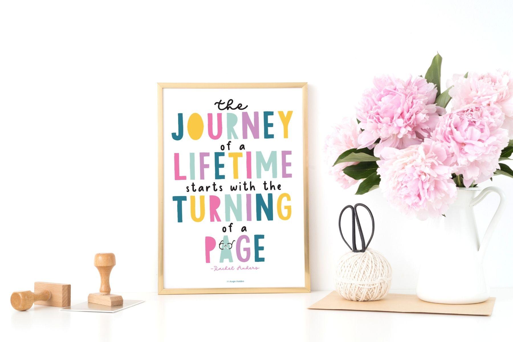 journey of a lifetime printable art
