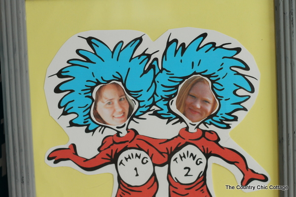 image about Thing 1 and Thing 2 Printable Cutouts called Generate Your self into Factor 1 or Factor 2 - The Nation Stylish Cottage