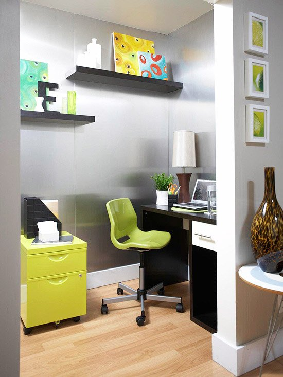 Office and craft room organizing ideas -- get tons of great pictures and ideas in one place.