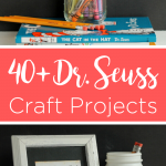 Give these Dr. Seuss crafts a try in your home! Celebrate Read Across America Day with these craft ideas that take 15 minutes or less to make. #drseuss #seuss #readacrossamerica #seusscrafts #quickcrafts #simplecrafts