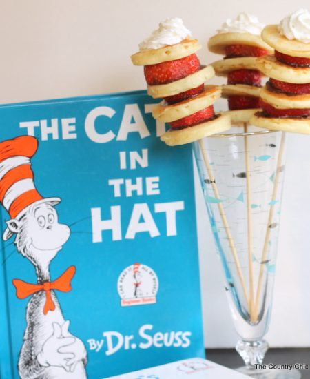 Dr. Seuss Pancake Stacks -- make this fun breakfast treat any day of the week!