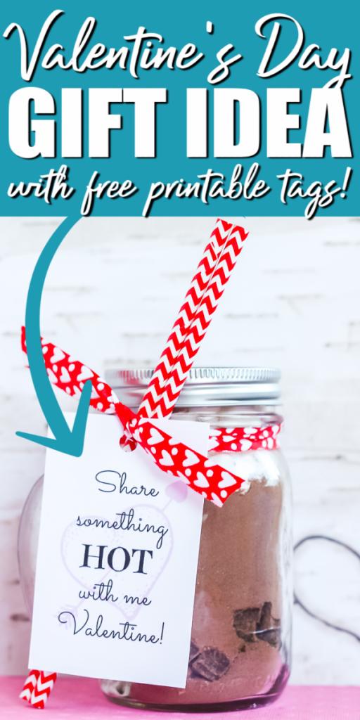 valentines day jar gift idea