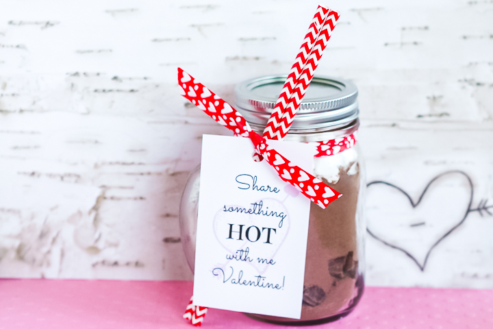 valentines day gift in a jar