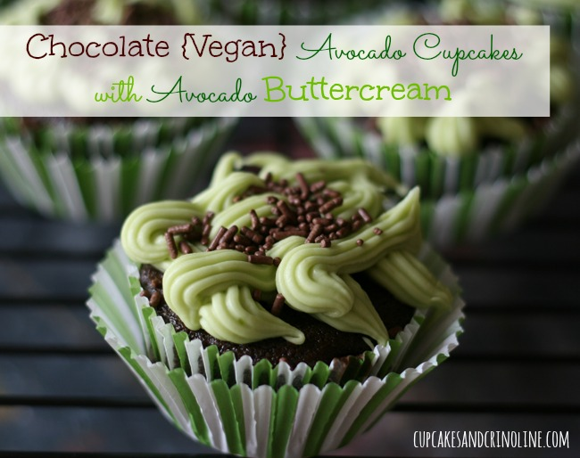 Chocolate-Vegan-Avocado-Cupcakes-with-Avocado-Buttercream