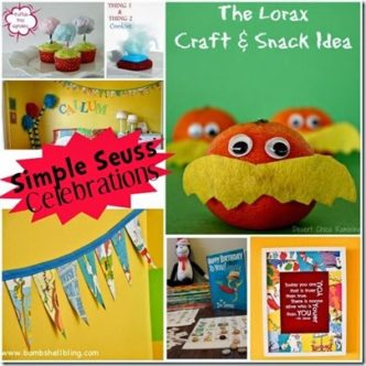Great ideas for your own Dr. Seuss celebration!