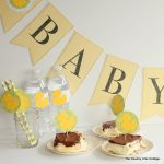 Baby Shower Ideas -- great ideas for your next baby shower. See how to make tons of decorations easily!