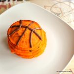 Easy to make basketball pancakes for a fun themed breakfast the boys will love!