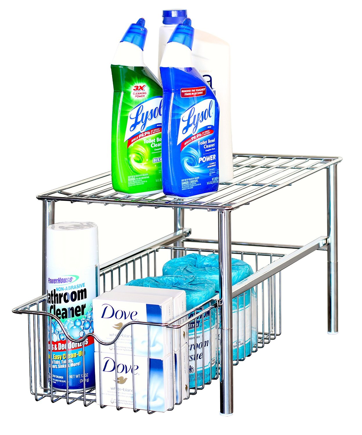 Tons of ideas on organization products to buy for your home -- I have never even heard of some of these!