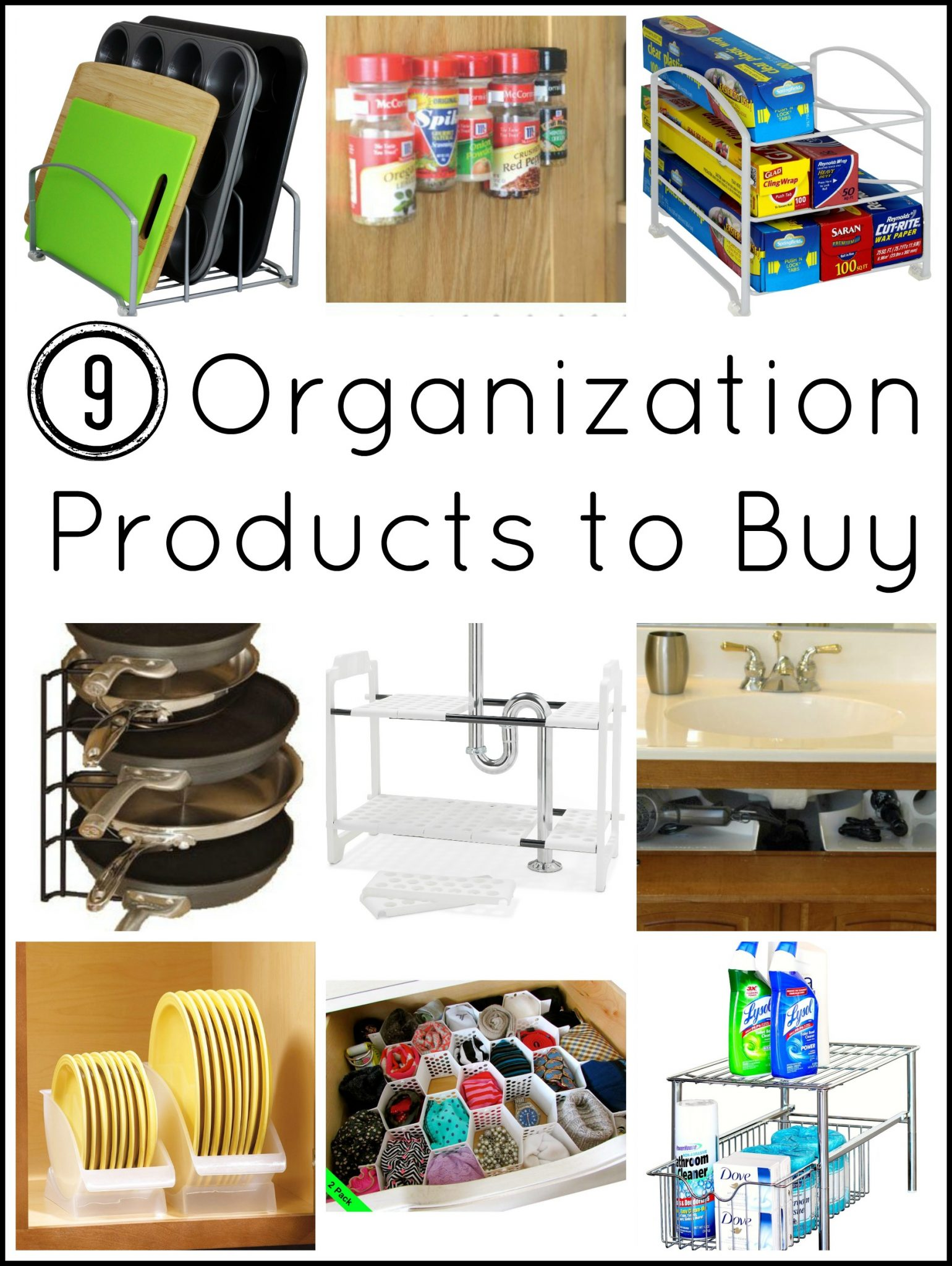 Organization Products YOU NEED! - The Country Chic Cottage