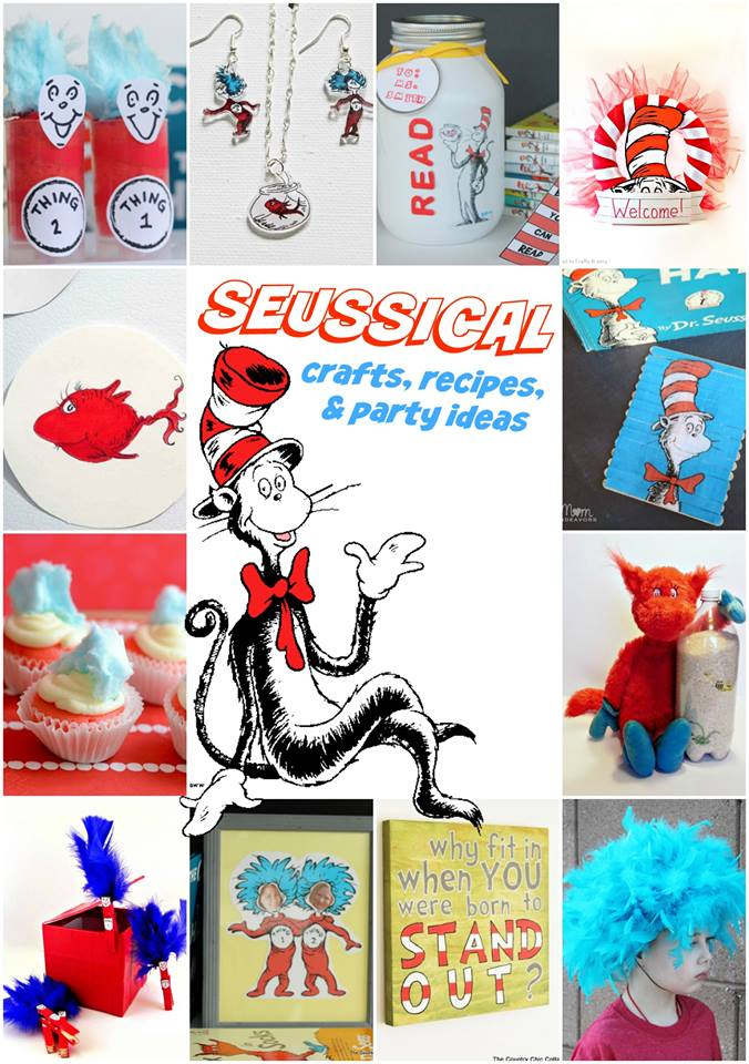 A collection of Seuss crafts, recipes, party ideas, and more!