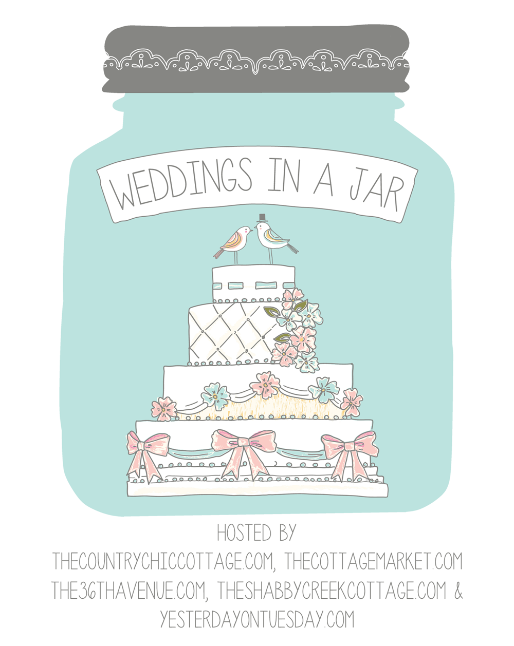 Get tons of great mason jar wedding ideas here!