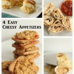 4 Easy Cheesy Appetizers -- recipes for these four great appetizers using cheese all in one place!