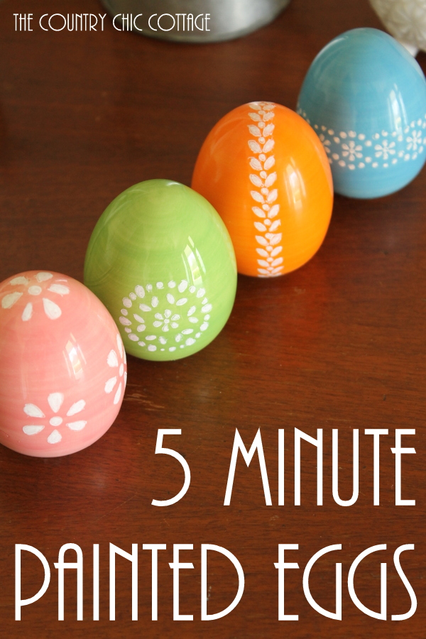 Paint These Gorgeous Easter Eggs In Just 5 Minutes With This Technique I Must