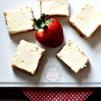 Strawberry Lemon Shortbread bars from cupcakesandcrinoline.com