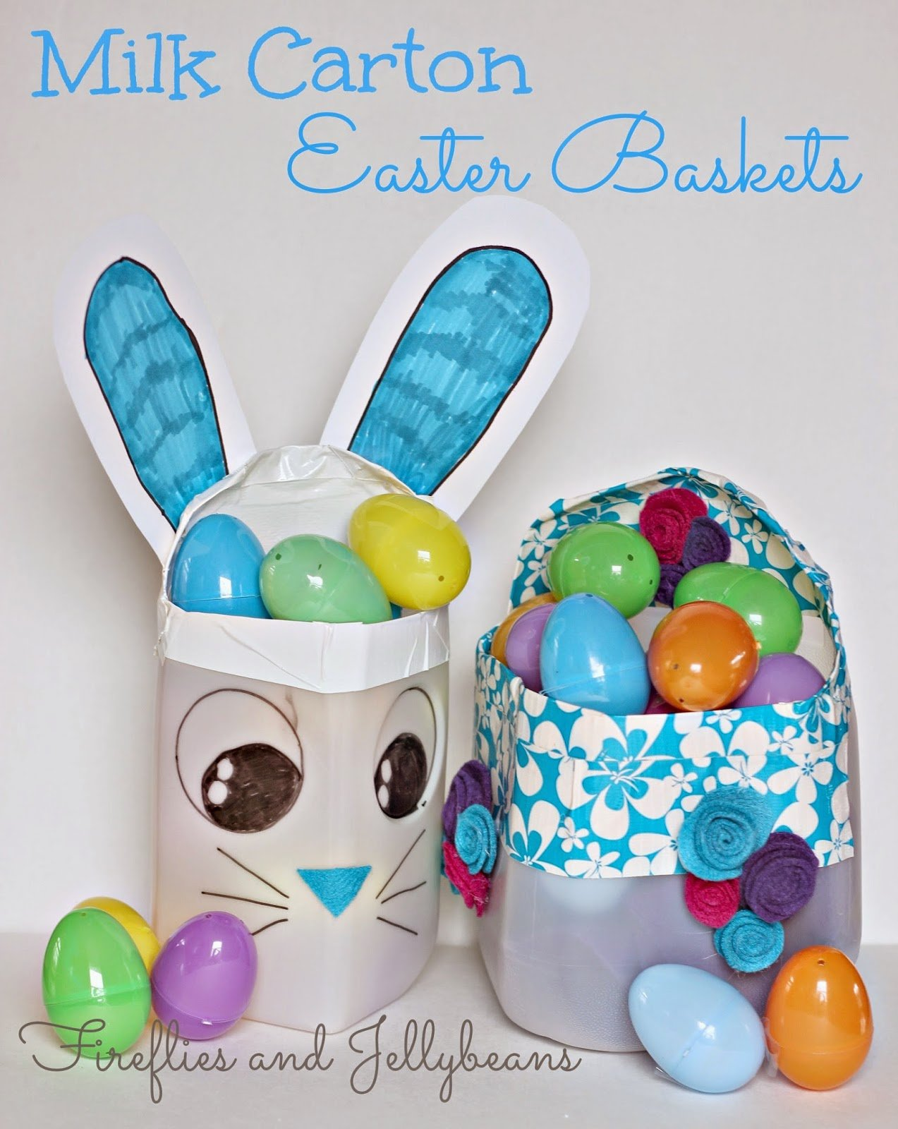 cl5 Milk Carton Easter Basket 1