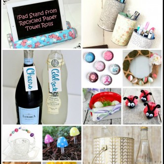 40+ Recycled Crafts