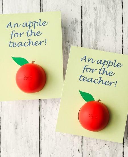 DIY EOS Lip Balm Teacher Gift Idea