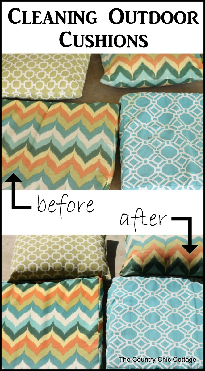 Beau How To Clean Outdoor Cushions    Donu0027t Forget Your Outdoor Cushions When  Spring