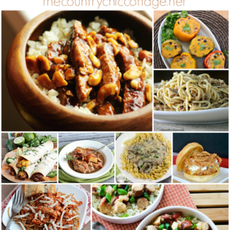 Slow cooker main dishes -- get 30 ideas here for main dishes to add to your crock pot!