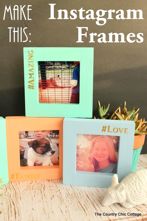 Instagram Picture Frames - The Country Chic Cottage