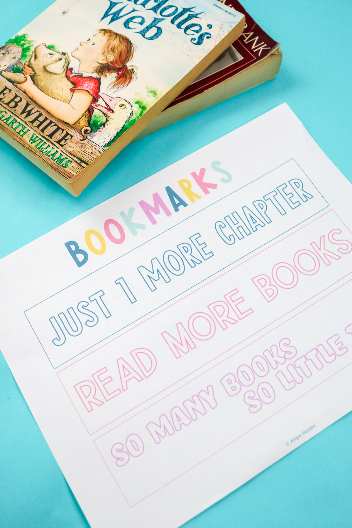 free bookmarks to print
