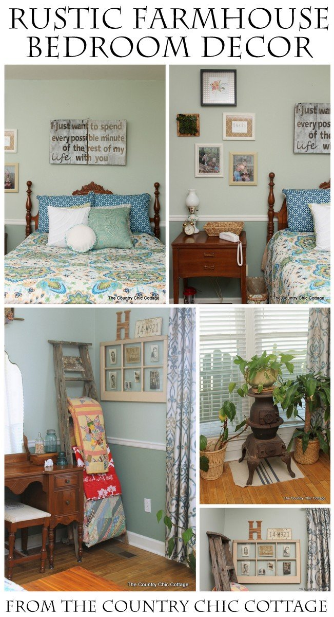 Best Rustic Farmhouse Bedroom Decor get great ideas here for a rustic farmhouse bedroom on