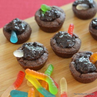 Dirt Cookie Cups -- a fun kids snack for classrooms, parties, or just because!