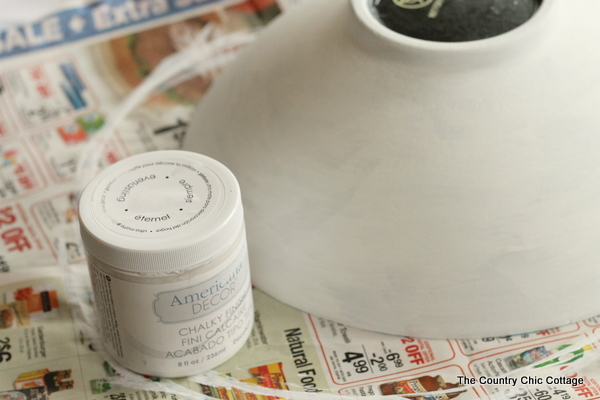 Painted Bowl Planter -- transform a thrift store bowl into a great alternative for your indoor or outdoor plants.